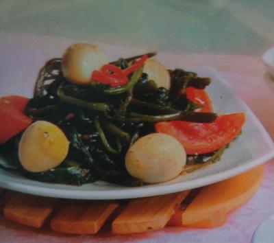 Resep Sayuran Cah Kangkung Praktis