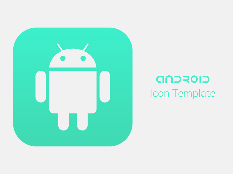 Android App Icon Template (For Modern Devices) [FREEBIE] | A Random ...
