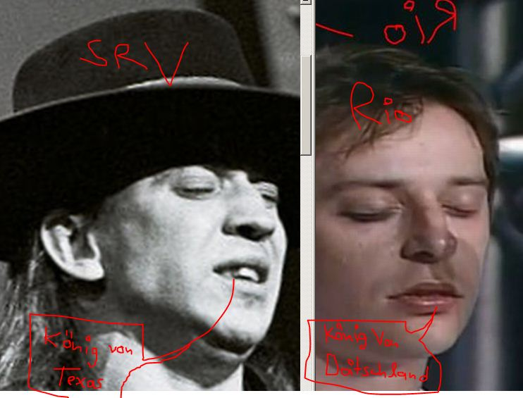 Stevie Ray Vaughan Was Rio Reiser And Still Playing As St John The Sinners