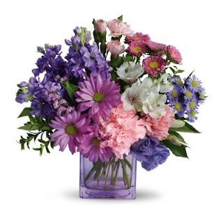 Order a Teleflora Hearts Delight Flower Arrangement