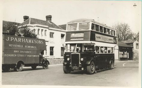Corporation bus at Cosham