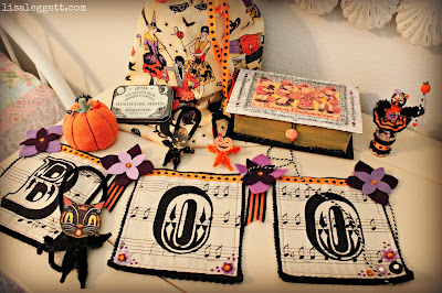 Vintage Halloween Swap Items by Lisa Leggett
