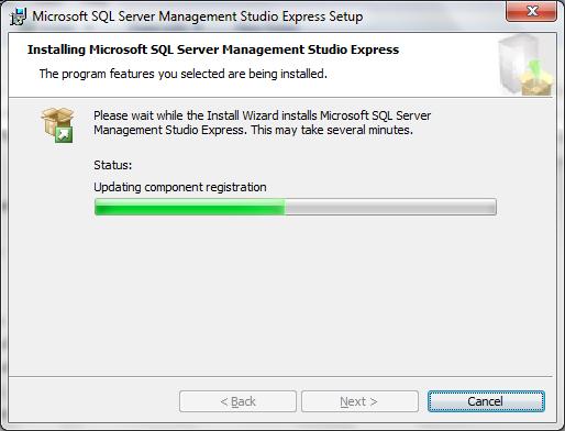 Cara menginstall Microsoft SQL Server 2005 Express di