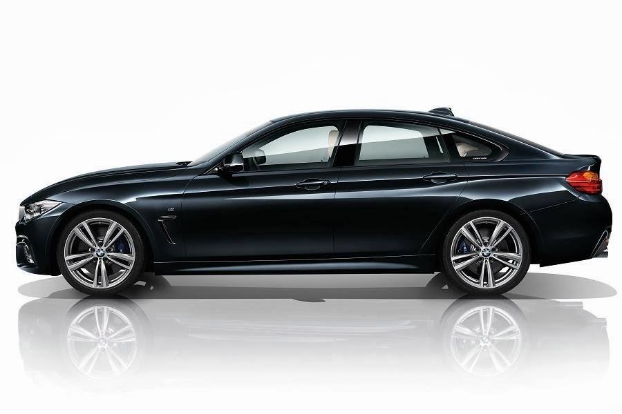 BMW 4 Series Gran Coupé M Sport (2014) Side