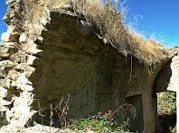 Detall de la volta d'una de les sales de la rectoria de Sant Andreu de Bellveí