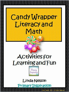 http://www.teacherspayteachers.com/Product/Halloween-Candy-Wrappers-Literacy-and-Math-Activities-152593