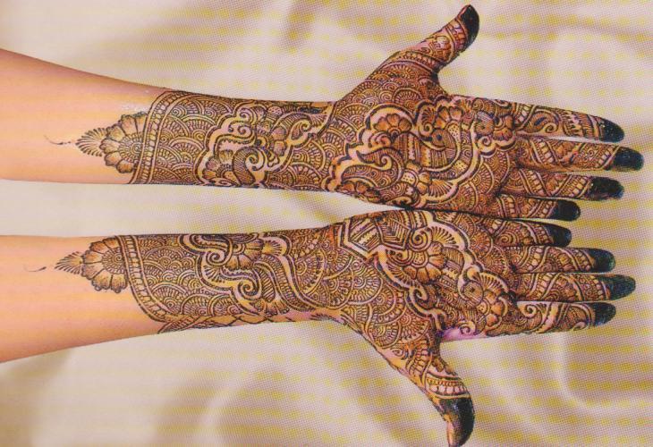 Mehndi Designs For Hands For Engagement : Creative classic mehndi designs for hands domseksa