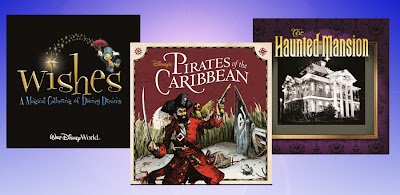 Disney iTunes park music Pirates Haunted Mansion Wishes