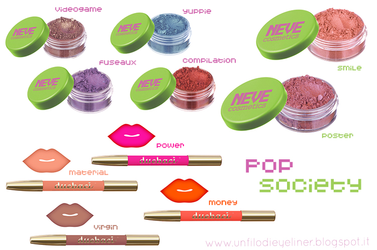 Pop Society - Neve Cosmetics: Preview