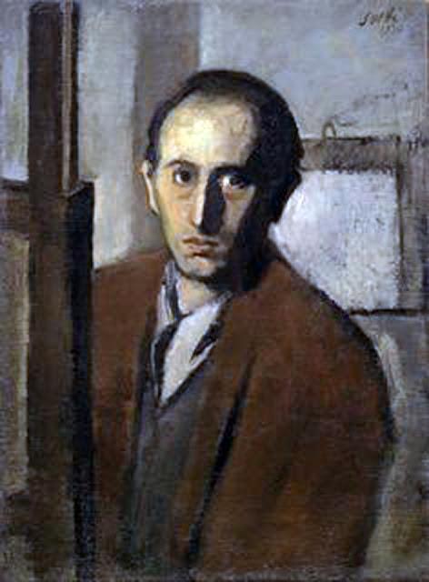 Bruno Saetti, Portraits of Painters, Self Portraits