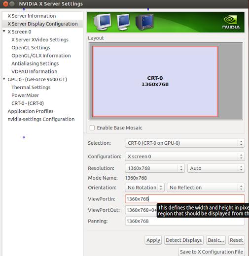 ubuntu установка драйвера монитора
