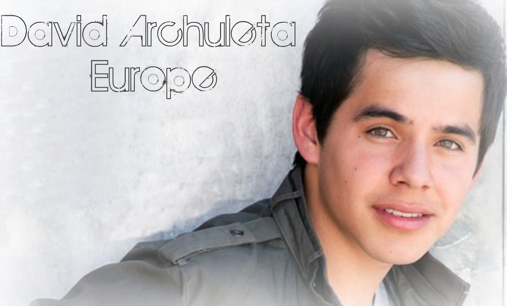 David Archuleta Europe
