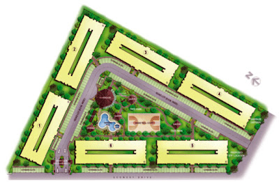 One Oasis Davao Site Development Plan, Condominium for sale in Davao, Filinvest