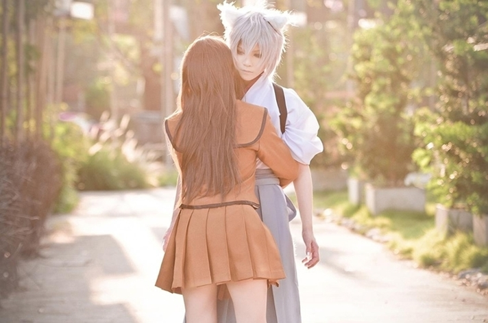 anima animasi tomoe cosplay kamisama kiss by yuegene