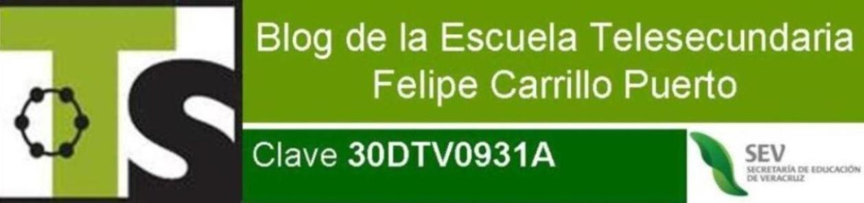 """Telesecundaria """"Felipe Carrillo Puerto"""""""