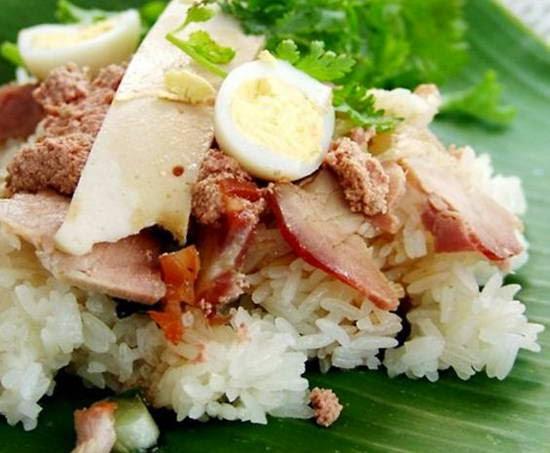 Vietnamese Food Culture - Xôi Mặn Thập Cẩm