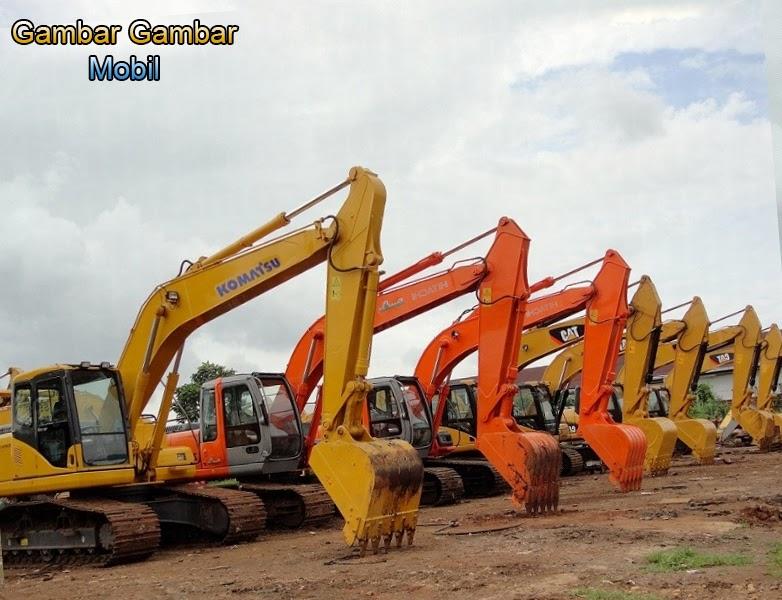kumpulan gambar excavator