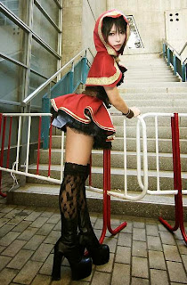 Kagami Sou cosplay as Sheva Alomar from Resident Evil 5