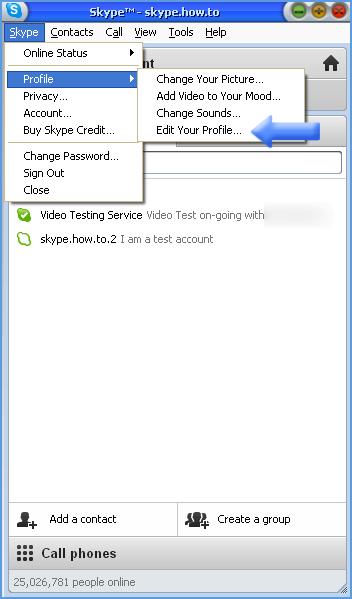 skype how to delete acount