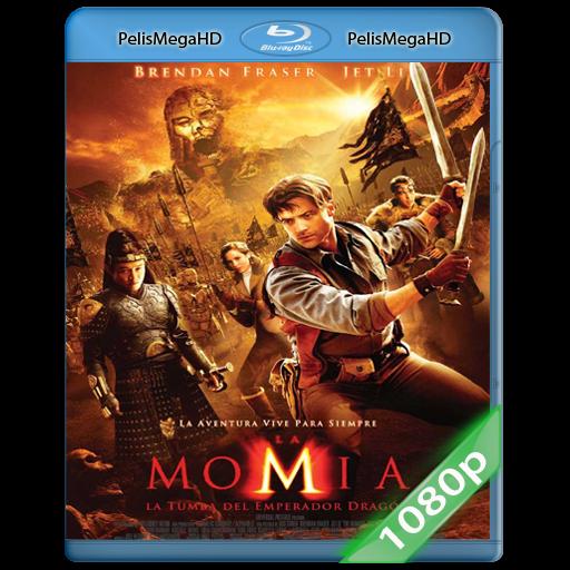 La Momia 3, La Tumba del Emperador Dragón (2008) 1080P HD MKV ESPAÑOL LATINO