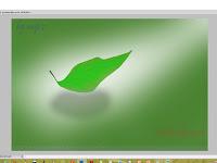 Cara membuat daun dengan menggunakan corelDRAW X4 dan photoshop CS5