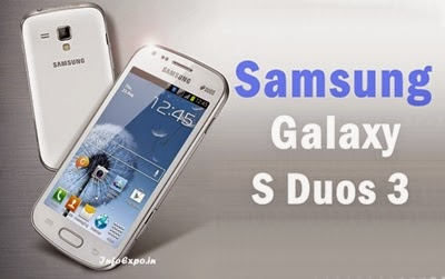 Samsung Galaxy S Duos 3: 4-inch Dual Core Android KitKat Phone