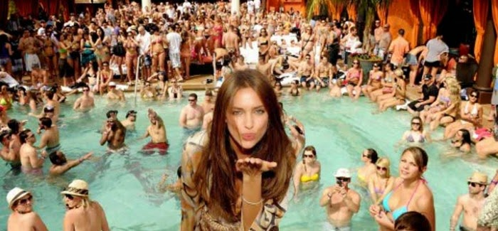 vegas pool party pictures