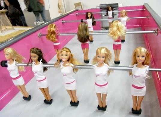 Bàn banh bàn dài Barbie  2