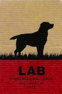 label of Lab Red Wine blend