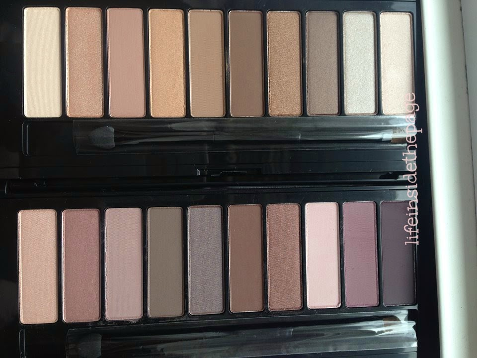 Department: Beauty: L'oreal Makeup Designer / Paris | La Palette Nude 1 and Nude 2 | Limited Edition Pure Reds Collection