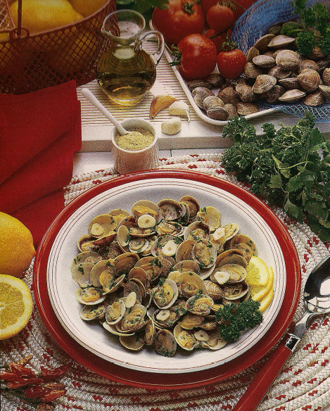 Zuppa di Vongole | Soup Clams