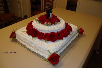 Bolo De Casamento 2011 Em Chantilly