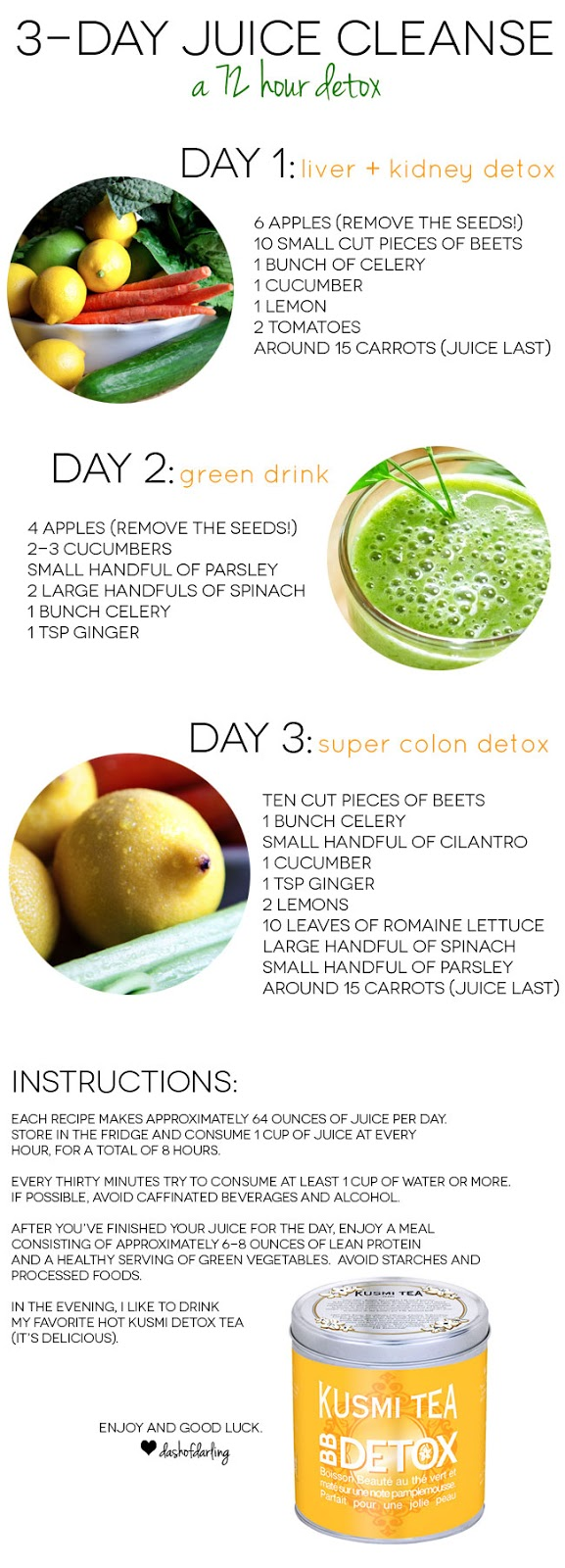 Little Dash of Darling: Three Day Juice Cleanse