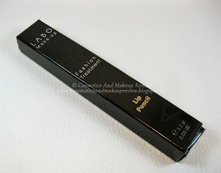 Labo Make-Up - Fashion Treatment Lip Pencil n° 04 - Natural Rose - packaging