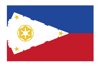 "Star Wars Flag Prints by Sket One - ""Empire Islands"" Philippines National Flag"