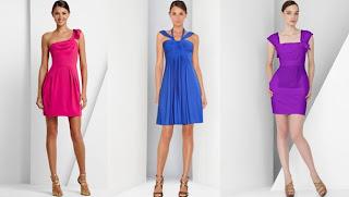 rengarenk elbiseler252812529 - 2011 asimetrik kesim gece k�yafetleri