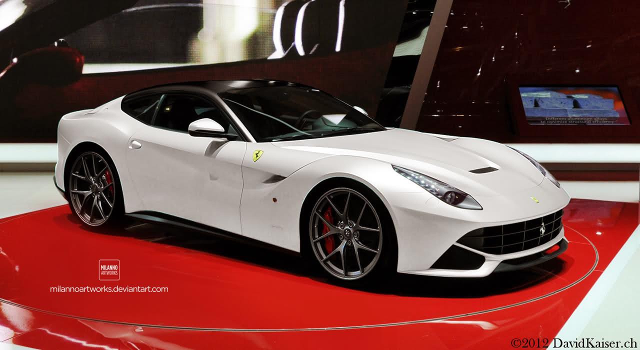 Ferrari f12 berlinetta white