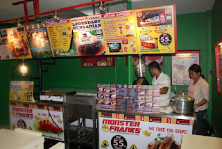 Monster Franks, E-Zone, F.Cabahug St., Kasambagan, Cebu City. 24-Hour Restaurant