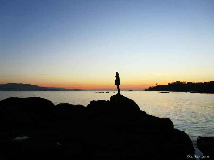 Puesta de sol en Moaña - Esturirafi - (c)Rut Abrain Sanchez