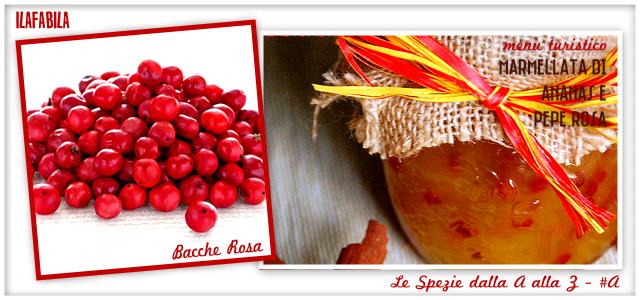 Bacche Rosa - Marmellata di Ananas e Pepe Rosa - Menu Turistico