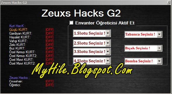 Güncel Wolfteam Türkiye Zeuxs Envanter Hack Hilesi 2013 İndir