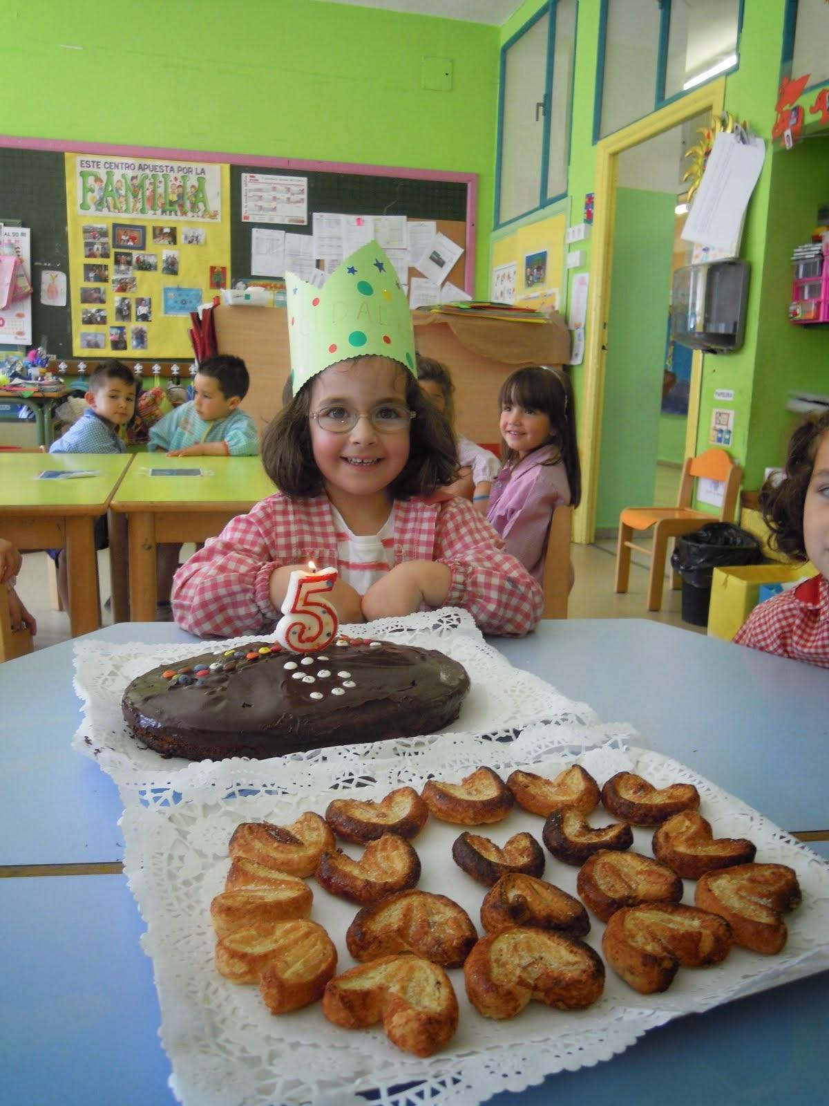 Cumpleaños de Alba