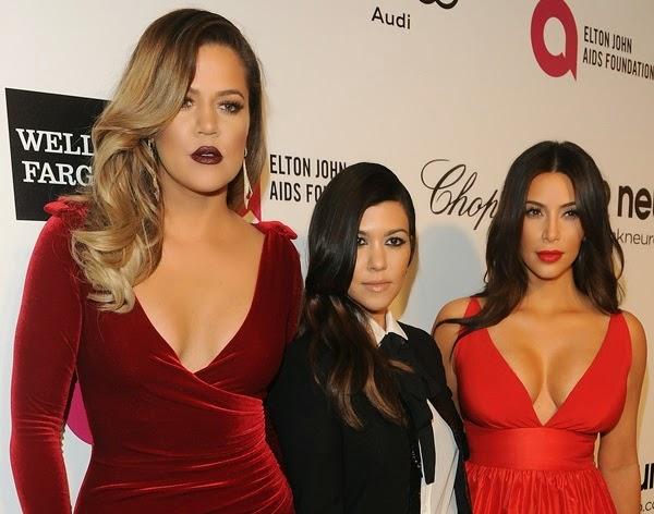 Khloe Kardashian Makeup Oscars