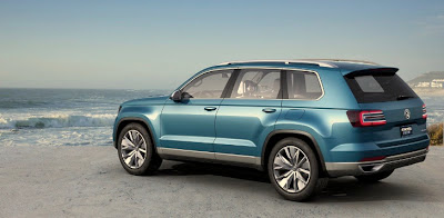 Volkswagen New SUV Concept: CrossBlue Leaked Photos