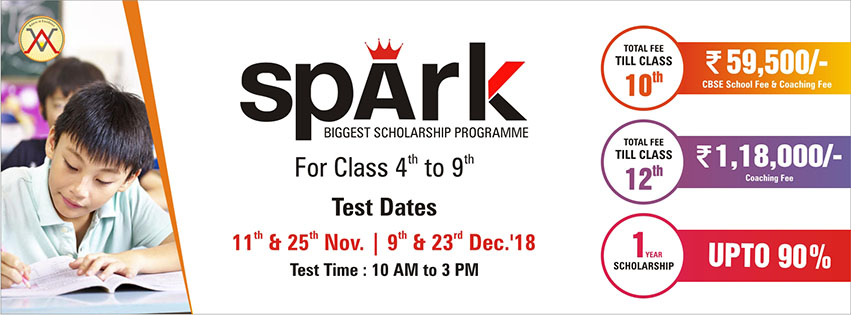 Spark Biggest Scholarship Programme for Class 05th to 10th