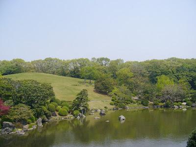 万博記念公園・日本庭園 心字池