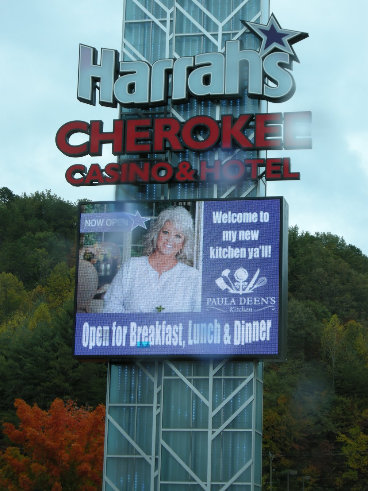 Kitchens Are Monkey Business: October 11. Welcome To Cherokee. Oy.