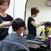 Potong rambut Ian & Iris