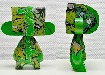 "Hulk ""Comic Stripped"" 10"" Custom Mad'l Vinyl Figure by VISEone"