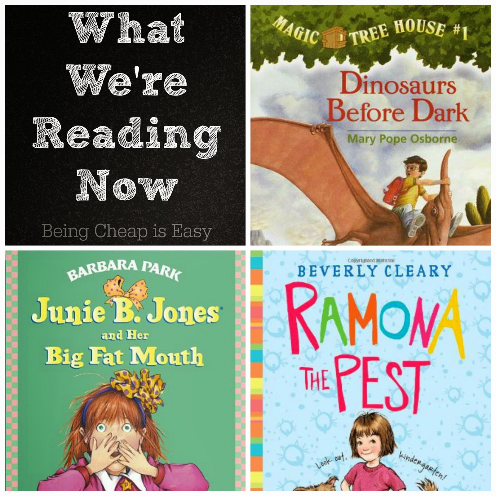 What We're Reading Now, Kindergarten, books, read out loud books